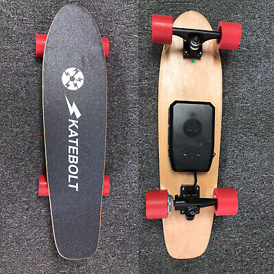 Used Electric Skateboard 2200mAh Lithium Battery Portable Electric Longboard