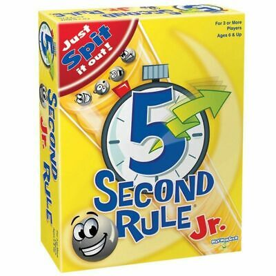 5 Second Rule Jr Board Game New Free Shipping AU Stock