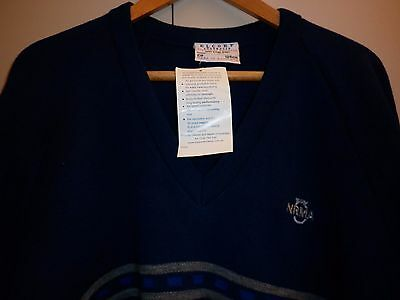 Vintage Nrma Uniform Wool Mix Jumper Xxl Excellent Condition