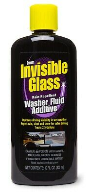 Stoner ST-WFA Invisible Glass Car Van Crystal Clear Washer Fluid Cleaner Additiv