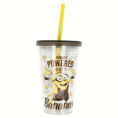 Vaso Doble Pared Cafe Helado 450 Ml | Minions