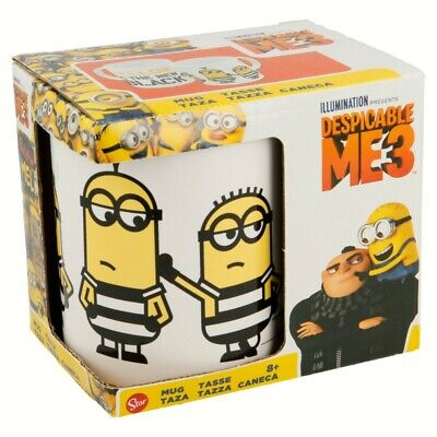 Taza Ceramica 325 Ml Con Caja | Despicable Me 3