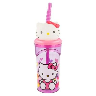 Vaso Figurita 3D 360 Ml | Hello Kitty Hearts