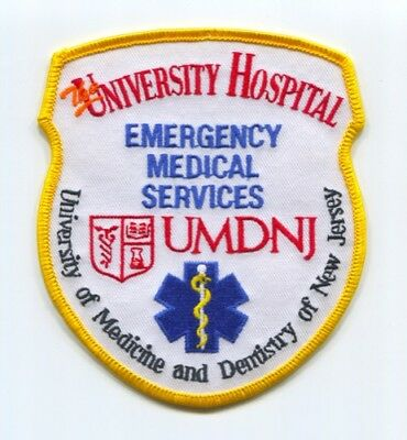 The University Hospital Umdnj Emergency Medical Services Ems Patch New Jersey Nj