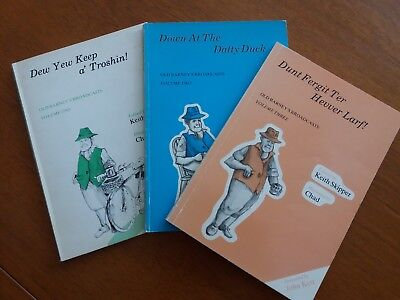 Job Lot of 3 Paperbacks 'Old Barneys Broadcasts' Vol 1,2 & 3 by Keith Skipper