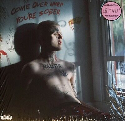 Lil Peep Come Over When You're Sober Pt 1 & 2 Limited Vinyl LP New 2018