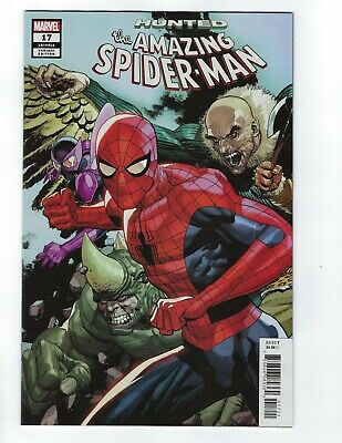Amazing Spider-Man Vol 5 # 17 Yu Variant Connecting Cover NM