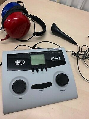 Interacoustics AS608 Portable Screening Audiometer (Battery operated)