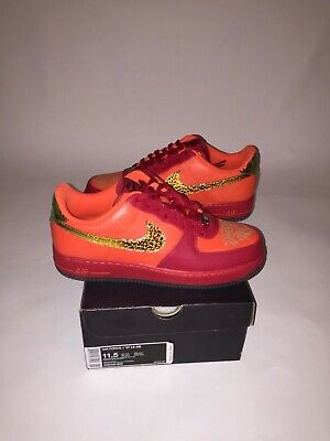 46641eeeb16e  very Rare  New Deadstock 2010 Nike Air Force 1 Low Doernbecher Size 11.5