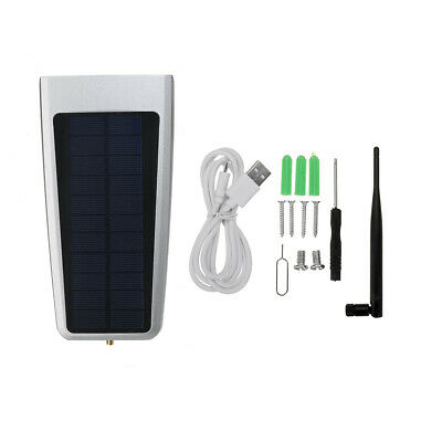 Solar Outdoor HD Night Vision Mobile Phone WiFi Network Surveillance Camera Syst