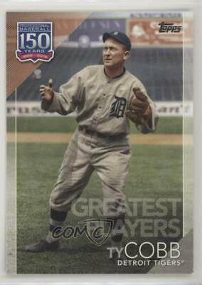 2019 Topps 150 Years of Professional Baseball #150-84 Greatest Players Ty Cobb
