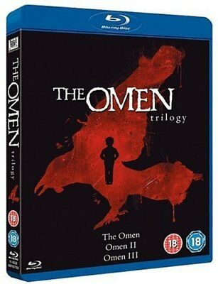 The Omen Trilogy (Blu-ray, 3 Discs, Region Free) *BRAND NEW/SEALED*