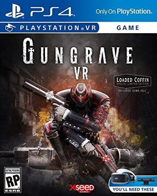 Ps4 Psvr Software-Gungrave Vr Loaded Coffin Edition Ps4 New