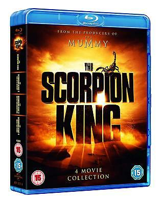 The Scorpion King Collection [Movies 1-4] (Blu-ray, 4 Discs, Region Free) *NEW*