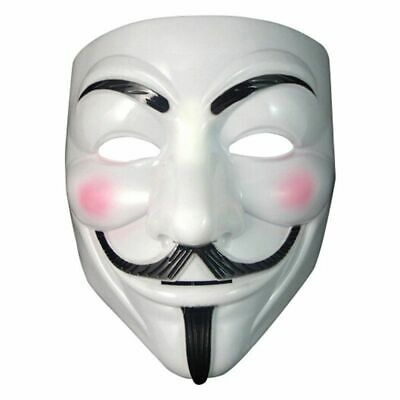 Anonymous Guy Fawkes Fancy Dress Adult Costume Accessory mascaras halloween mask