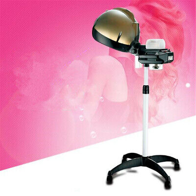 Professional Salon Hair Hairdressing Care Steamer Rolling Stand Base Beauty Hood