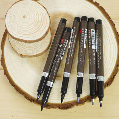 3pcs 3 Size Chinese Calligraphy Class Pen With Nibs Ink & Guide Book Signing Pen