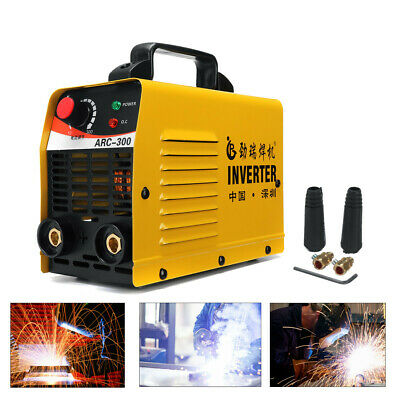 ARC-300 220V LCD Electric IGBT Inverter MMA ARC ZX7 Portable Welding Machine