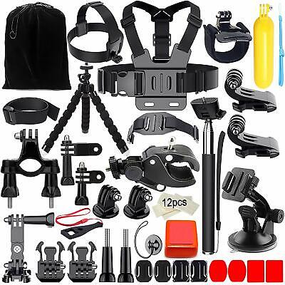 Accessori GoPro Hero 5 6 7 4 Kit Set Session Black Action Cam Camera AKASO 45in1