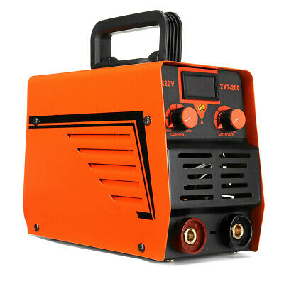 ZX7-200 10A-200A 220V Automatic LCD Electric Inverter MMA/ARC Welding Machine