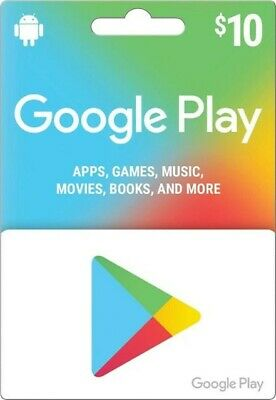 Google Play Gift Code $10 - BRAND NEW FULL BALANCE