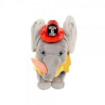 Disney Dumbo Live Action Small Plush - Fireman Outfit Dumbo - NEW