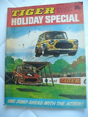 Tiger Holiday Special 1974 Comic