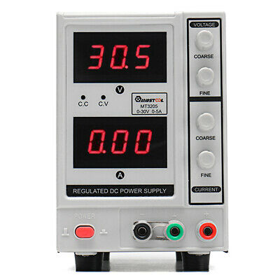 MUSTOOL MT3205 Adjustable 30V 5A 3-digit Regulated DC Power Supply for Electroni