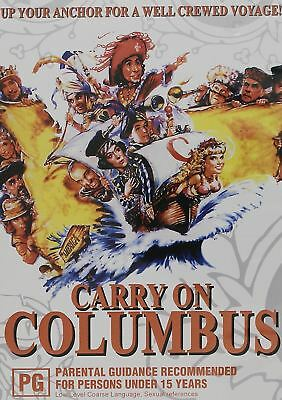 Carry On Columbus DVD PAL Region Free New Sealed