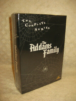 The Addams Family The Complete Series Dvd Boxset