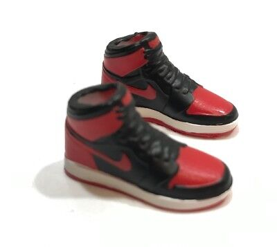 "OZ-SS-AJ1: 1/12 Scale Toy Air Jordan 1 basketball shoes for 6"" action figures"