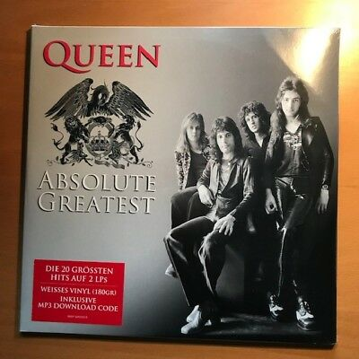 Queen Absolute Greatest hits WHITE double vinyl - NEW SEALED