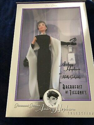 AUDREY HEPBURN  BREAKFAST at TIFFANY'S Doll 1998 Barbie Mattel