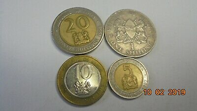 Kenya   coins as photos