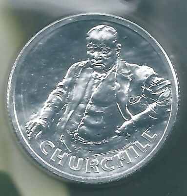 SOLID SILVER   £20 COIN      THE ICONIC   Sir Winston Churchill  PERFECT