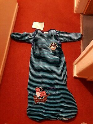 Dream Bag Pirate Travel Sleeping Bag 3.5 Tog 18-36 Months Removable Sleeves