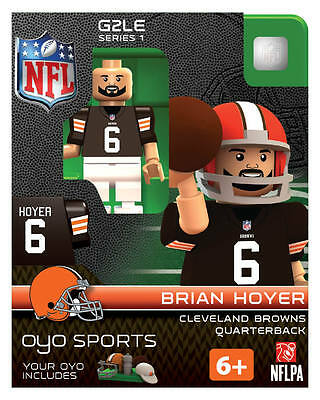 CLEVELAND BROWNS BRIAN HOYER SIGNED autographed custom football mini ... d38f70401