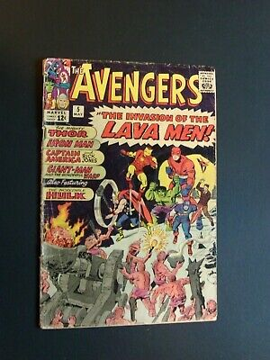 Avengers #5 May 1963, Marvel Silver Age