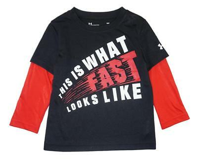 Under Armour Infant Boys This Is What Fast Looks Like Dry Fit Top Size 18M