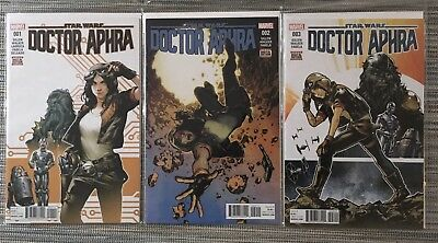 Star Wars Doctor Aphra Issue 1, 2 & 3 - First Print
