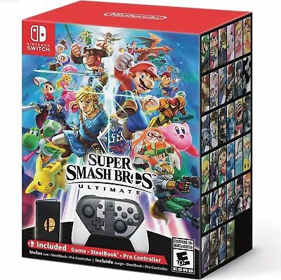 Super Smash Bros. Ultimate Special Edition Nintendo Switch New and In Stock!