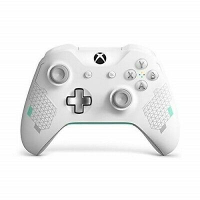 Microsoft WL3-00082 Xbox One Wireless Controller, Sport White/Teal Special