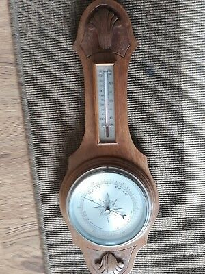 VINTAGE COMITTI OF LONDON WALL Barometer/ Thermometer