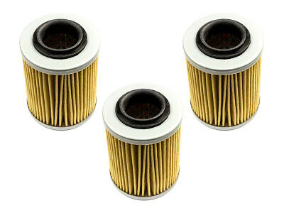 Oil Filter Set 3 Piece Moto Filter MF152 for Bombardier Ds Can Am Outlander