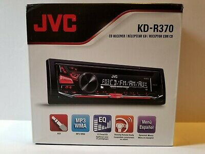 NEW JVC CAR Stereo Radio Deck With Aux Input & Complete