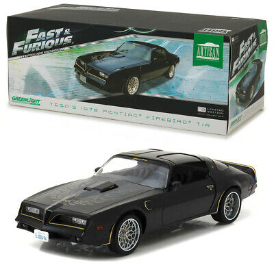 1978 Pontiac Firebird Trans Am Tego Fast & Furious 1:18 Artisan GreenLight 19026