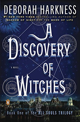 Harkness, Deborah-A Discovery Of Witches BOOK NEW