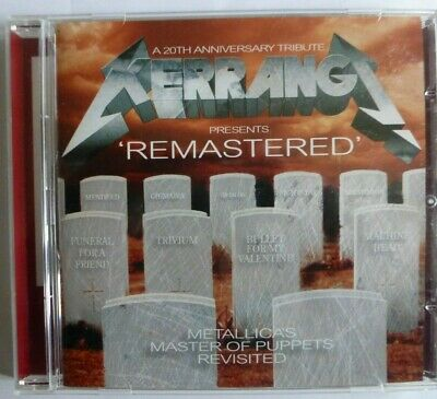 Kerrang Remastered - Metallica's Master Of Puppets Revisited Cd Album.