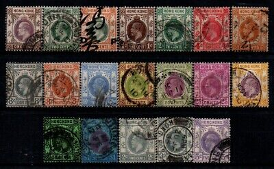 Very Old Stamps from Hong Kong - British Colonies.
