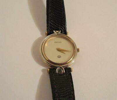 f010bffb054 Vintage Gucci 4500L Gold Plated Womens Quartz Watch 070-393 Gold   Silver  Colors